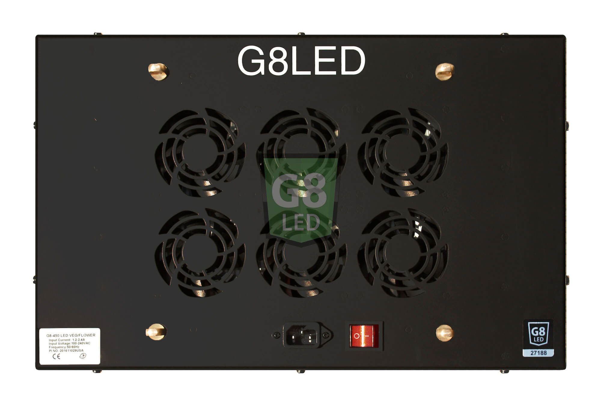 G8LED 450 Watt LED Veg/Flower Grow Light