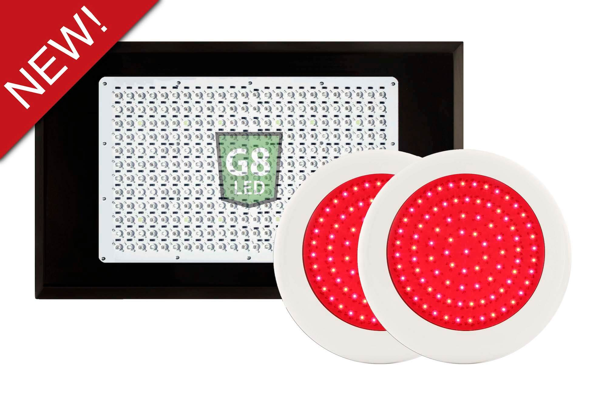 G8LED 900 Watt LED Grow Light Kit